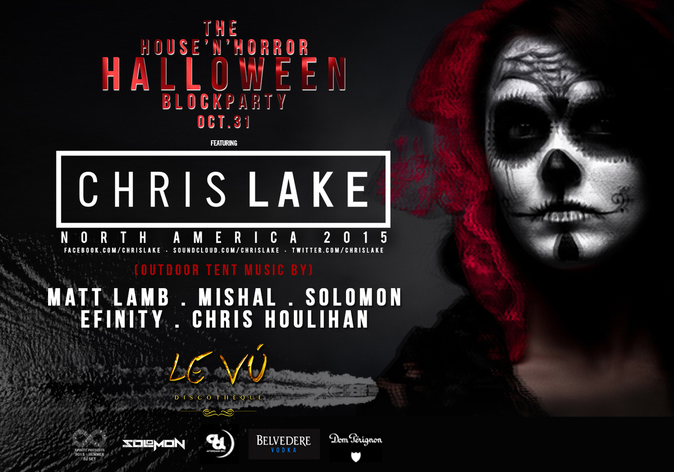 halloween block party at levu ft. chris lake - tickets - levu