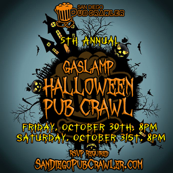 5th Annual Halloween Pub Crawl - FRIDAY 10/30/15