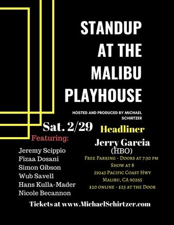 Standup@The Malibu Playhouse
