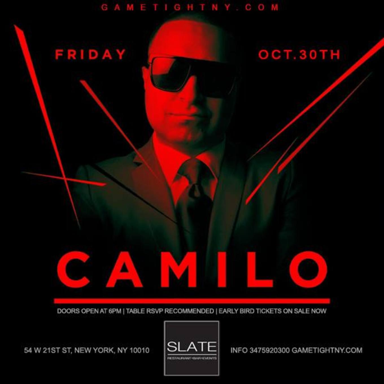 Halloween Slate NYC party with Hot97 Dj Camilo - Slate, New York ...