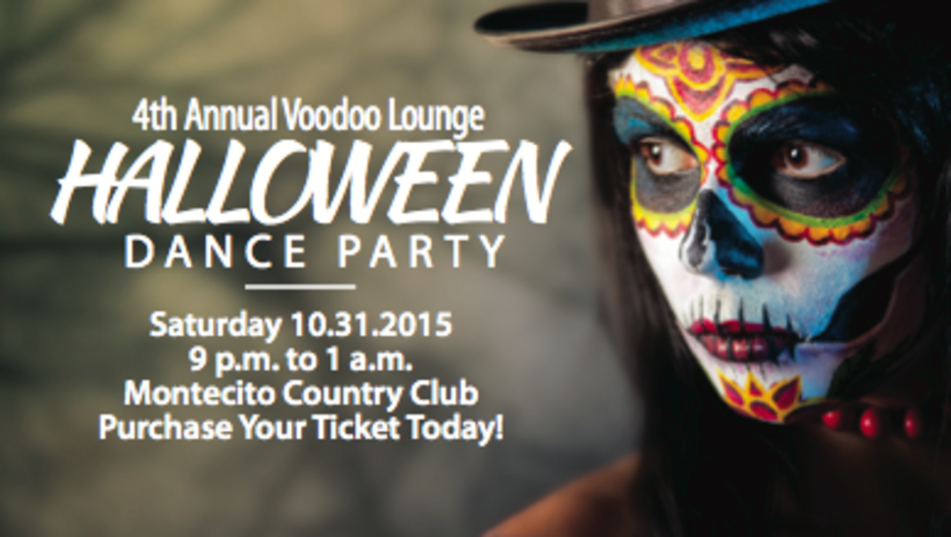 Voodoo Lounge 4th Annual Halloween Dance Party - Montecito Country ...