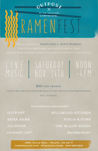 Ramenfest at The Goodland Hotel
