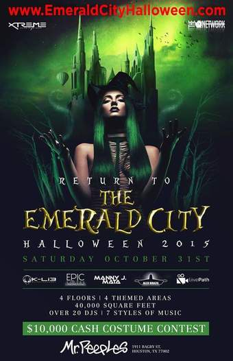 Return to the Emerald City Halloween Costume Ball