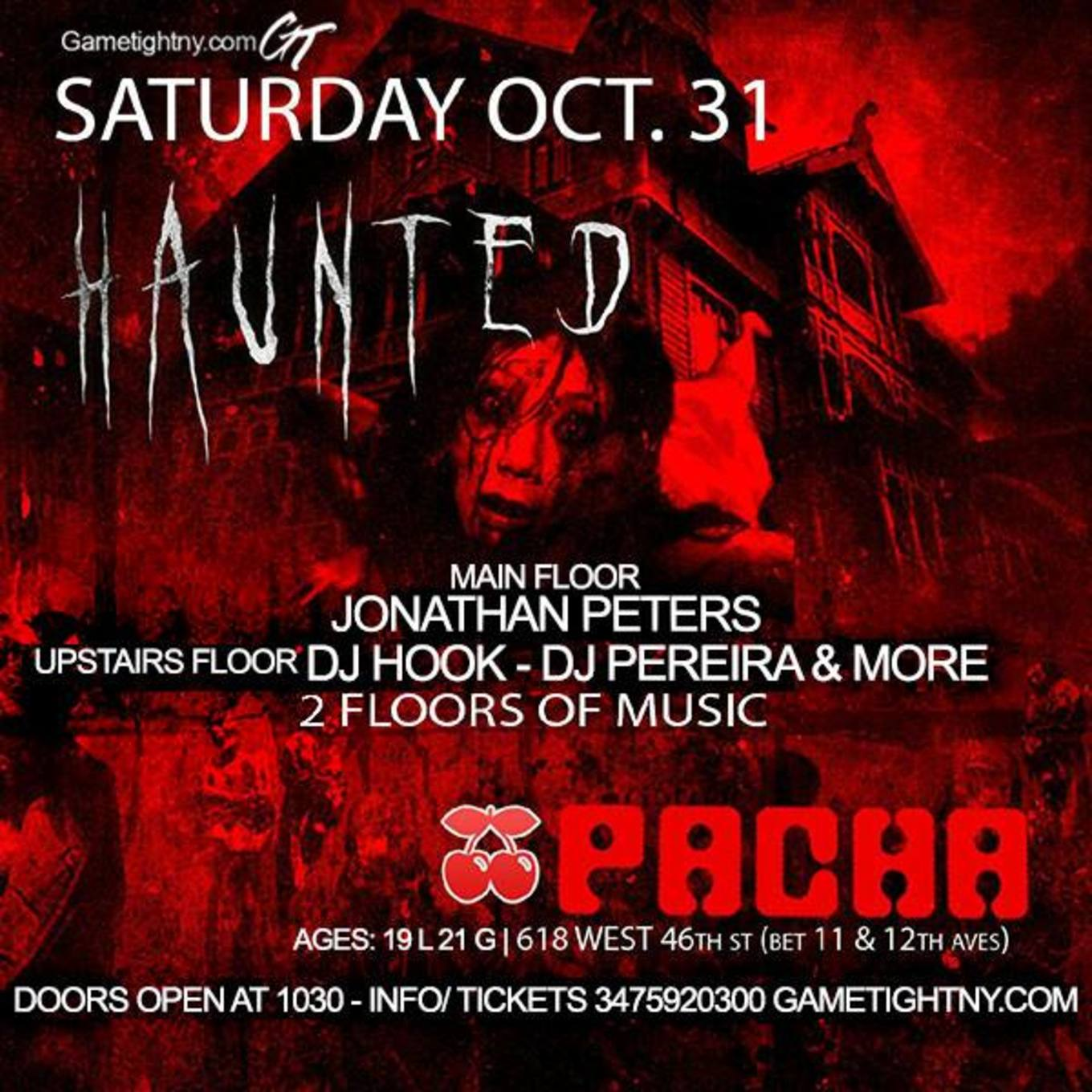 halloween pacha nyc party 2015 buy tickets now - pacha, new york, ny