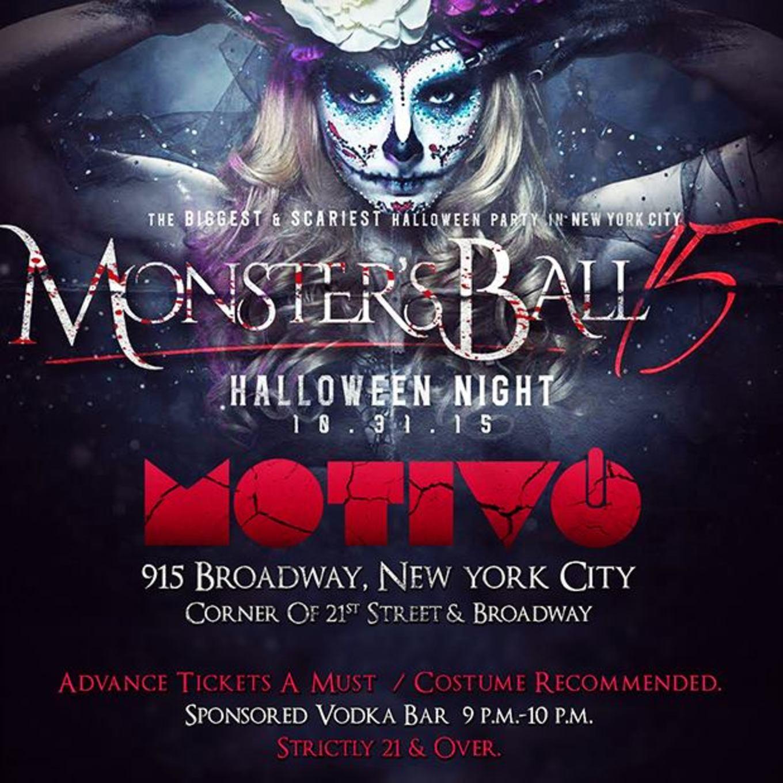 the monster ball nycs top rated halloween night party motivo nightclub - Halloween Night Party