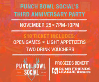 Punch Bowl Social Denver's Anniversary Party