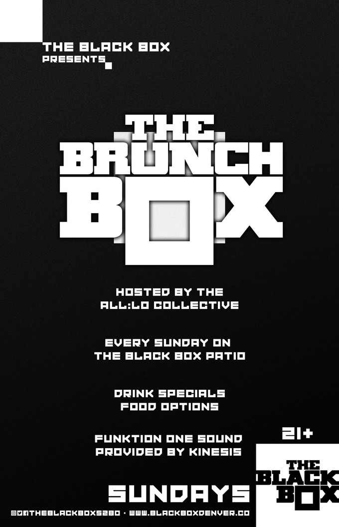The Brunch Box hosted by the all:Lo Collective