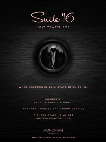SUITE '16 New Years Eve