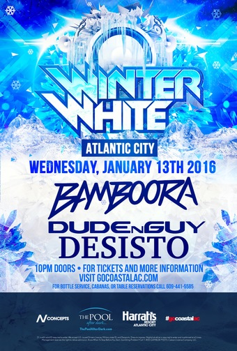 Wet N Wild Wednesdays presents Winter White Tour