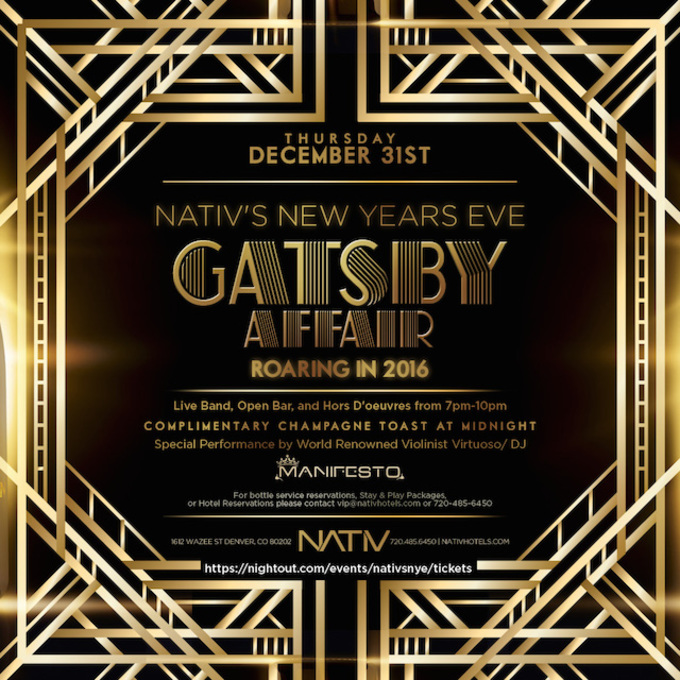 Denver New Years Fireworks6 By Niel4: NATIV's NEW YEAR'S EVE GATSBY AFFAIR :: ROARING IN 2016