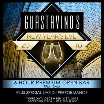 GUASTAVINO'S New Year's Eve 2016