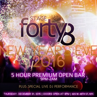 STAGE 48 New Year's Eve 2016