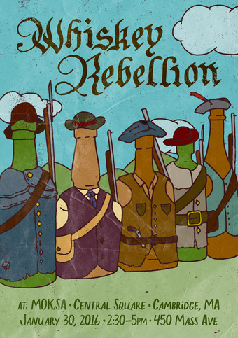 2016 Whiskey Rebellion Boston