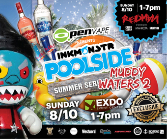 O.penVAPE Presents the Ink Monstr Poolside Summer Series