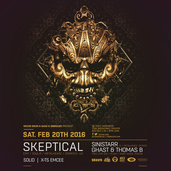 Recon DNB presents Skeptical, Sinistarr, Ghast & Thomas B