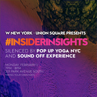 #INSIDERINSIGHTS at W NEW YORK – UNION SQUARE