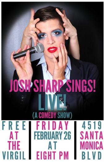 Josh Sharp Sings!