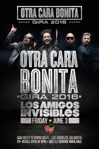 Conga Room presents Los Amigos Invisibles
