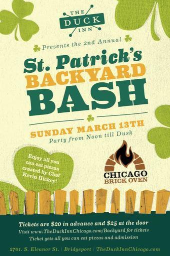 St. Patricks Backyard Bash