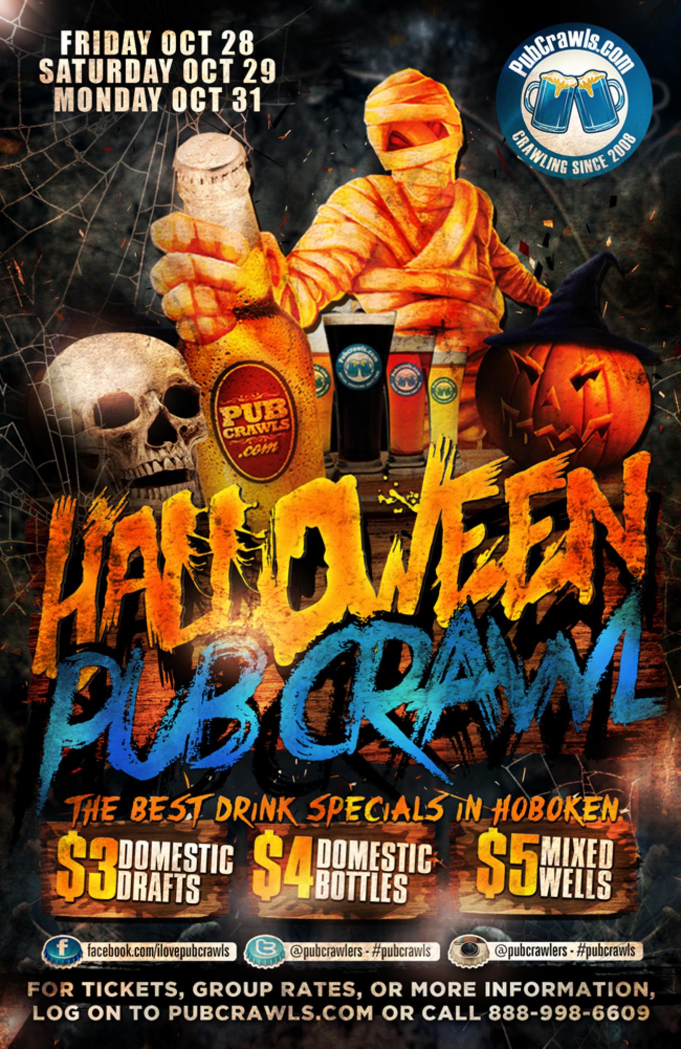 Halloween Pub Crawl Hoboken 2016 Tickets Hoboken Bar