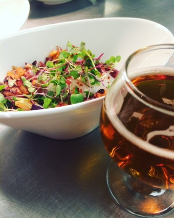 The Corner office Brewers Brunch with Breckenridge Brewery