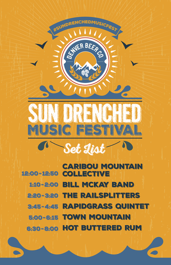 Sun Drenched Music Festival