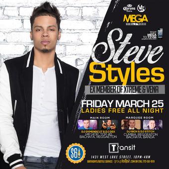 Steve Styles Live! EX Member  Vena & Xtreme