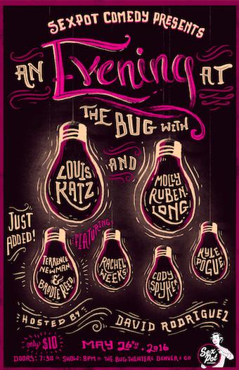 Sexpot Comedy Presents: An Evening at The Bug with Louis Katz