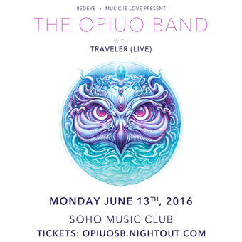 6.13 - THE OPIUO BAND @ SoHo (Santa Barbara, CA)