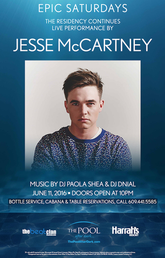 Epic Saturdays with Jesse McCartney