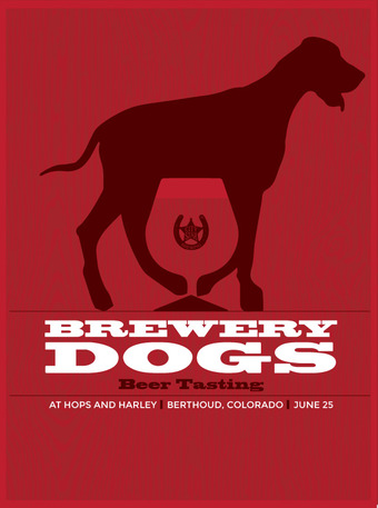 Brewery Dogs Beer Tasting at Hops and Harley