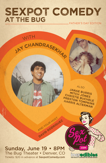 Sexpot Comedy Presents: An Evening at The Bug with Jay Chandrasekhar