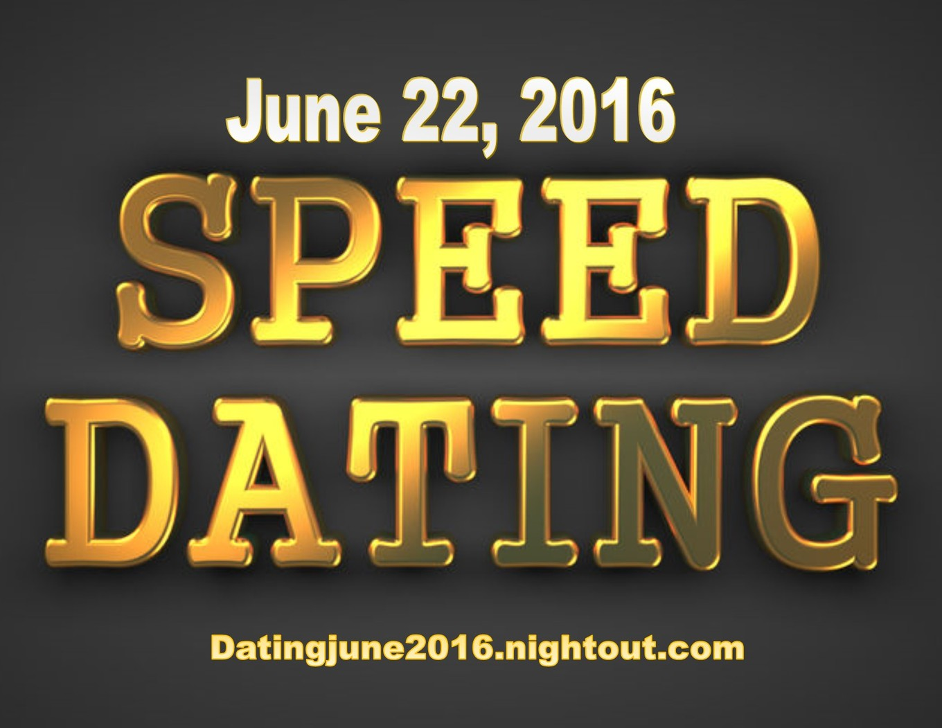 how to run a speed dating night