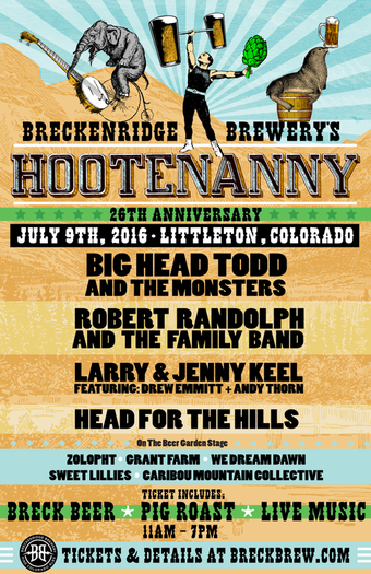 Breckenridge Brewery's Annual Hootenanny