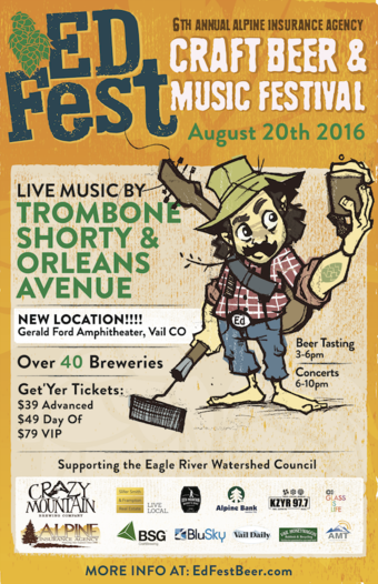 6th Annual Alpine Insurance Agency Ed Fest: Craft Beer and Music Festival