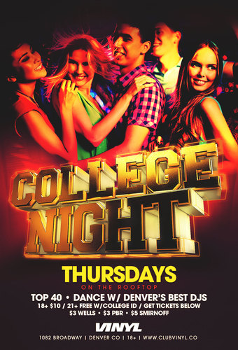 College Night on the Rooftop