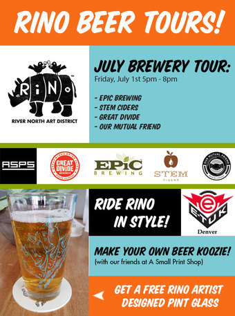 RiNo First Friday Beer Tour