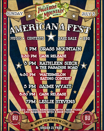 Americana Fest @ Figueroa Mountain Brewing Company