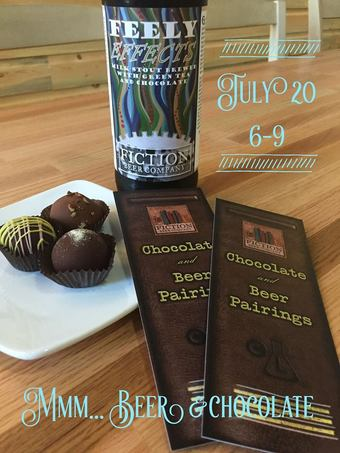 Chocolate & Beer Pairing w/ Fiction Beer and Chocolate Lab