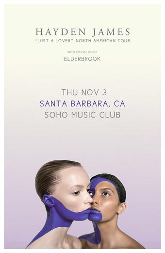 Hayden James - Nov 3 - Santa Barbara, CA