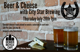 Beer and Cheese with City Star Brewing