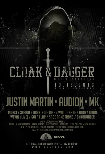 Cloak & Dagger Music Festival