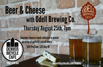 Beer and Cheese with Odell Brewing Co.