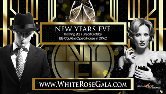 15th White Rose Gala – NYE Party Denver 2017