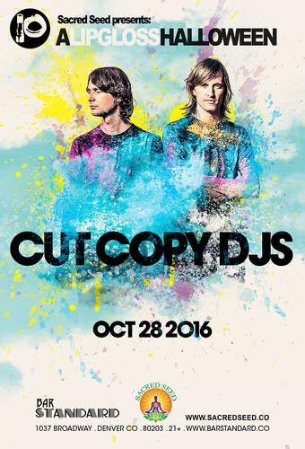 Cut Copy DJ's | The Lipgloss Halloween Party | Presented by Sacred Seed