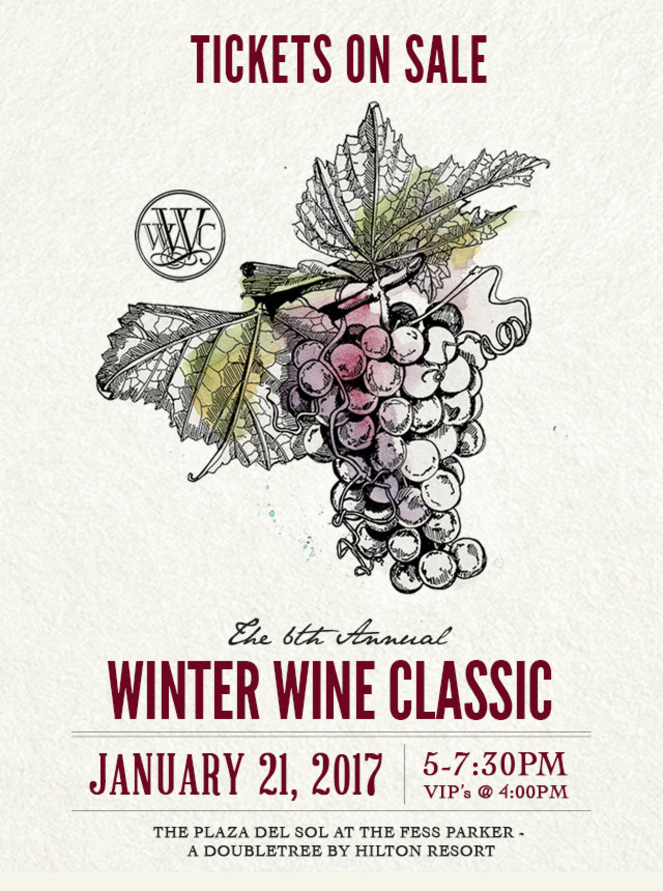 6th Annual Winter Wine Classic By California Festival