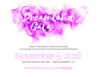 Dreamland Gala **Limited After-Party Tickets Available at the Door**