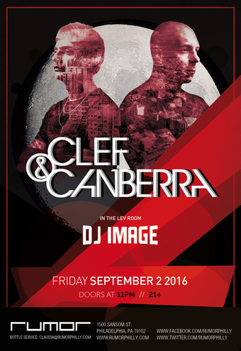 Clef & Canberra at Rumor