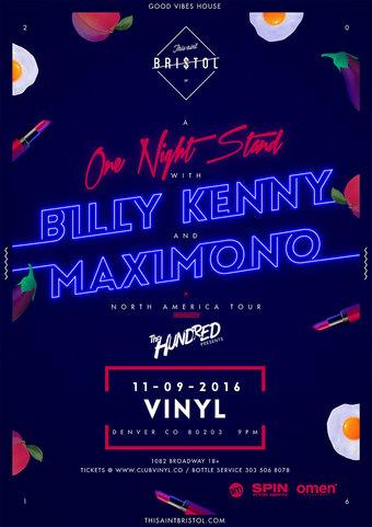 Billy Kenny + Maximono