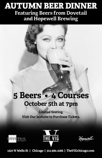 AUTUMN BEER DINNER